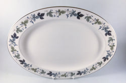 "Royal Doulton - Burgundy - Oval Platter - 16"" - The China Village"