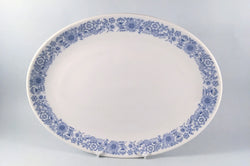 "Royal Doulton - Cranbourne - Oval Platter - 13 1/4"" - The China Village"