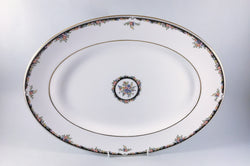 "Wedgwood - Osborne - Oval Platter - 15 1/2"" - The China Village"