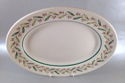 "Royal Doulton - Almond Willow - Oval Platter - 11"" - The China Village"