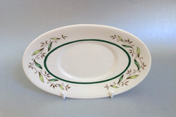 Royal Doulton - Almond Willow - Sauce Boat Stand - The China Village