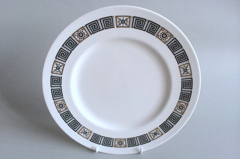 "Wedgwood - Asia - Black - Dinner Plate - 10 3/4"" - The China Village"