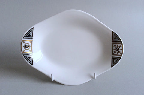 Wedgwood - Asia - Black - Sauce Boat Stand (No well) - The China Village