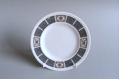 "Wedgwood - Asia - Black - Side Plate - 6"" - The China Village"