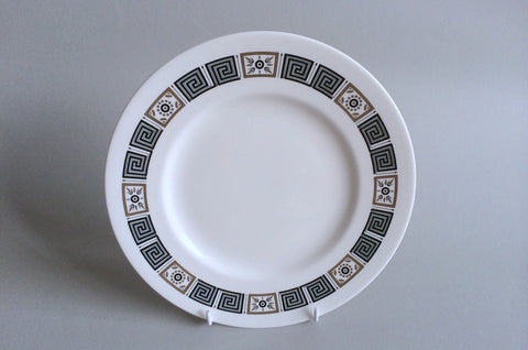 "Wedgwood - Asia - Black - Starter Plate - 8 7/8"" - The China Village"