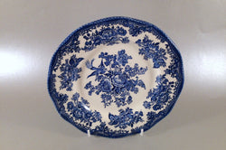 "Wedgwood - Asiatic Pheasant - Blue - Starter Plate - 7 5/8"" - The China Village"