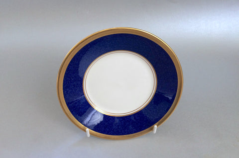 "Coalport - Athlone - Blue - Tea Saucer - 5 3/4"" (3 1/4"" well) - The China Village"