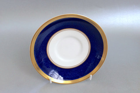 "Coalport - Athlone - Blue - Tea Saucer - 6"" (2 1/4"" well) - The China Village"