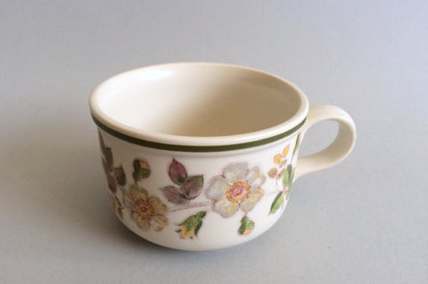 "Marks & Spencer - Autumn Leaves - Breakfast Cup - 3 3/4"" x 2 1/2"""