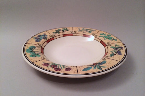 "Staffordshire - Banbury Fayre - Rimmed Bowl - 9 1/8"" - The China Village"
