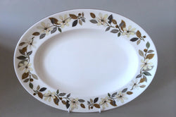 "Wedgwood - Beaconsfield - Oval Platter - 13 3/4"" - The China Village"