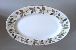 "Wedgwood - Beaconsfield - Oval Platter - 15 1/4"" - The China Village"
