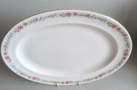 "Paragon - Belinda - Oval Platter - 16 3/8"" - The China Village"