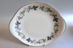 "Royal Doulton - Burgundy - Bread & Butter Plate - 10 3/8"" - The China Village"