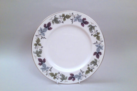 "Royal Doulton - Burgundy - Dinner Plate - 10 5/8"" - The China Village"
