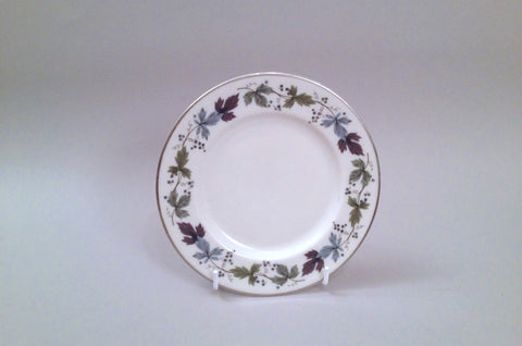 "Royal Doulton - Burgundy - Side Plate - 6 1/2"" - The China Village"