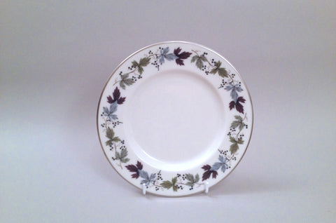 "Royal Doulton - Burgundy - Starter Plate - 8"" - The China Village"