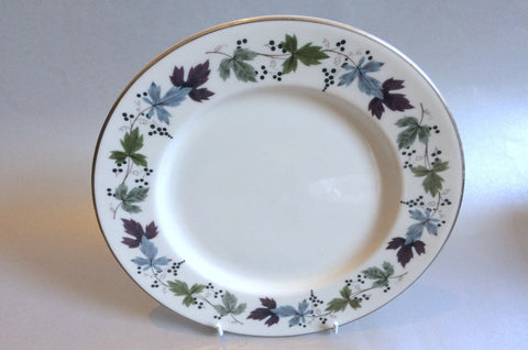 "Royal Doulton - Burgundy - Starter Plate - 9"" - The China Village"