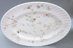 "Wedgwood - Campion - Oval Platter - 14"" - The China Village"