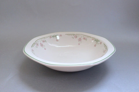 "Royal Doulton - Caprice - Rimmed Bowl - 7 5/8"" - The China Village"