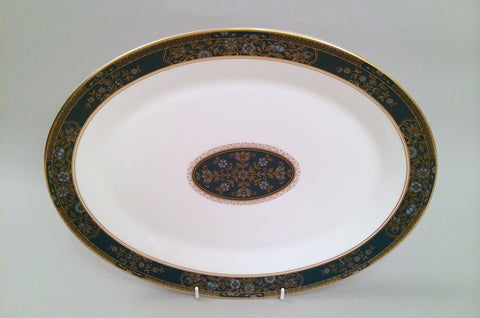 "Royal Doulton - Carlyle - Oval Platter - 13 1/2"" - The China Village"