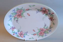 "Royal Doulton - Carmel - Oval Platter - 13 1/2"" - The China Village"