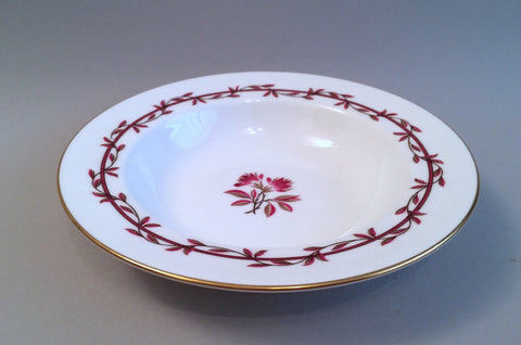 "Minton - Carmine - Rimmed Bowl - 7 3/4"" - The China Village"