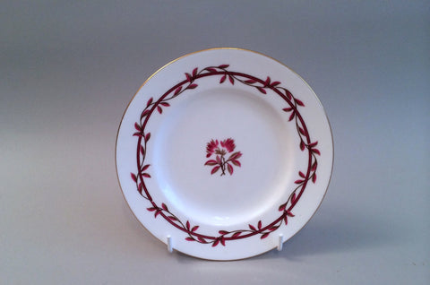 "Minton - Carmine - Side Plate - 6 1/4"" - The China Village"