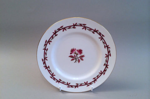 "Minton - Carmine - Starter Plate - 7 3/4"" - The China Village"