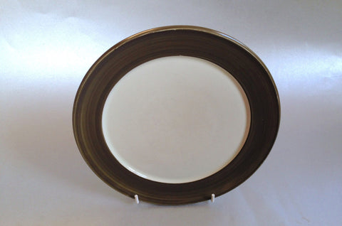 "Denby - Chevron - Starter Plate - 8"" - The China Village"