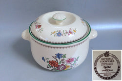 Spode - Chinese Rose - New Backstamp - Casserole Dish - 3pt - The China Village