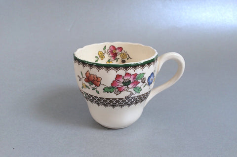 "Spode - Chinese Rose - New Backstamp - Coffee Cup - 2 1/2"" x 2 1/4"" - The China Village"
