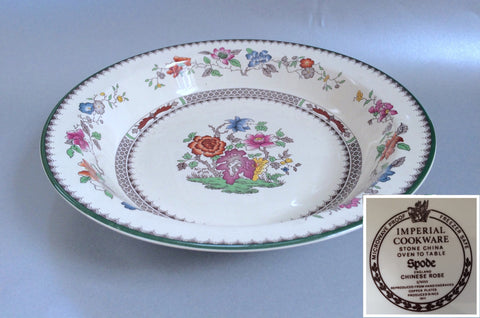 "Spode - Chinese Rose - New Backstamp - Serving Bowl - 10 1/2"" - The China Village"
