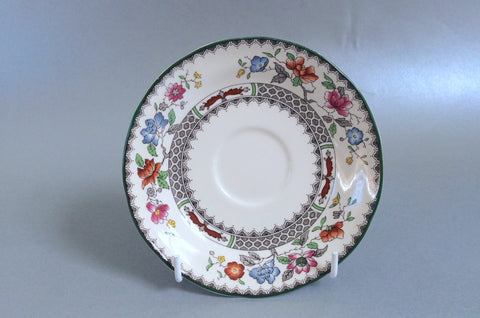 "Spode - Chinese Rose - New Backstamp - Tea Saucer - 5 1/2"" - The China Village"