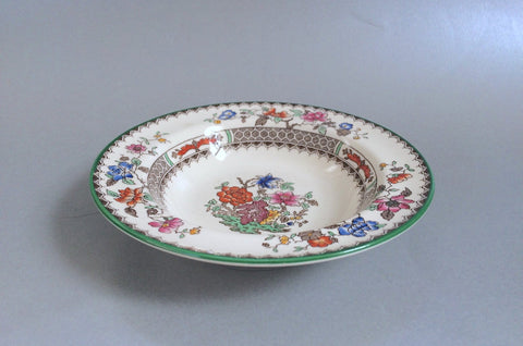 "Spode - Chinese Rose - Old Backstamp - Fruit Saucer - 6 1/2"" - The China Village"
