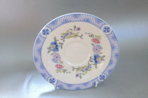 "Royal Doulton - Coniston - Tea Saucer - 6 1/8"" - The China Village"