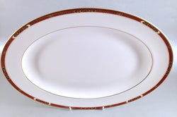 "Marks & Spencer - Connaught - Oval Platter - 13 3/4"" - The China Village"