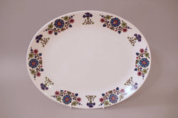 "Midwinter - Country Garden - Oval Platter - 11 7/8"" - The China Village"