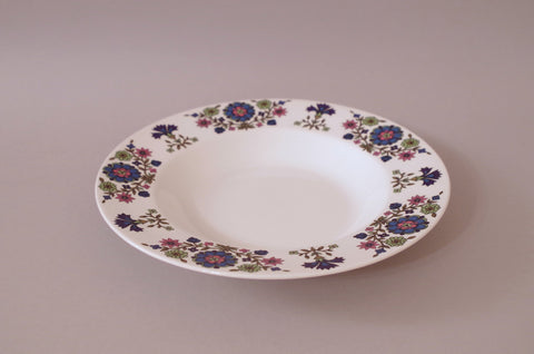 "Midwinter - Country Garden - Rimmed Bowl - 9"" - The China Village"