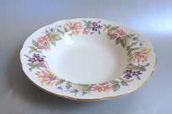 "Paragon - Country Lane - Rimmed Bowl - 9 1/8"" - The China Village"