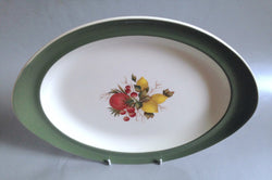 "Wedgwood - Covent Garden - Oval Platter - 13"" - The China Village"