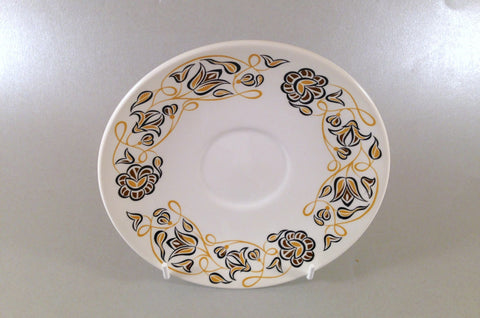 "Poole - Desert Song - Tea Saucer - 6"" - The China Village"