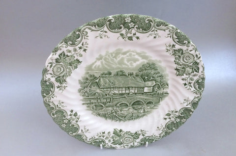 "Johnsons - English Country Life - Dinner Plate - 9 3/4"" - The China Village"