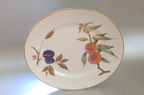 "Royal Worcester - Evesham - Gold Edge - Dinner Plate - 10 1/4"" (Flat rim) - The China Village"