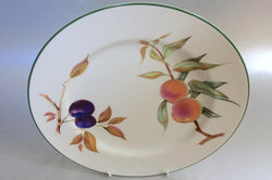 "Royal Worcester - Evesham Vale - Dinner Plate - 10"" (Plum & Peach) - The China Village"