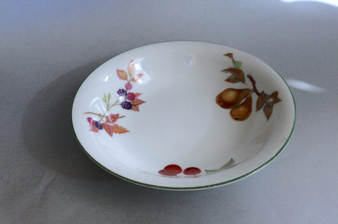 "Royal Worcester - Evesham Vale - Pasta Bowl - 8 1/4"" (Cherries, Pears, Blackberries) - The China Village"