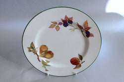 "Royal Worcester - Evesham Vale - Starter Plate - 8 1/4"" (Pears, Red Plum, Blackberries) - The China Village"