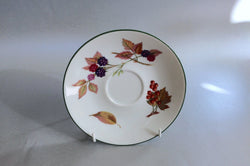 "Royal Worcester - Evesham Vale - Tea Saucer - 6"" (Redcurrants, Blackberries) - The China Village"