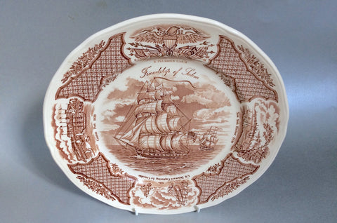 "Meakin - Fair Winds - Dinner Plate - 10 5/8"" - The China Village"