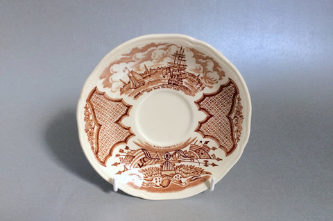 "Meakin - Fair Winds - Tea Saucer - 5 5/8"" - The China Village"
